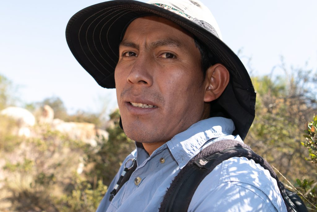 Reynaldo, Nature walk in Chinchero, Peru
