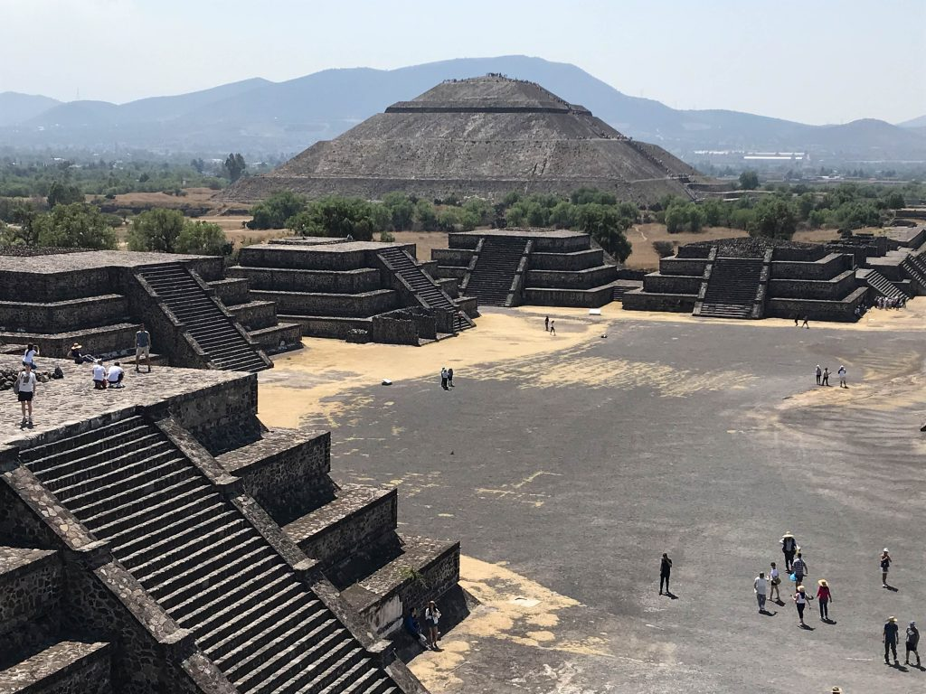 Teotihuacan Pyramid, Mexico City, Mexico ©2019, Cyndie Burkhardt