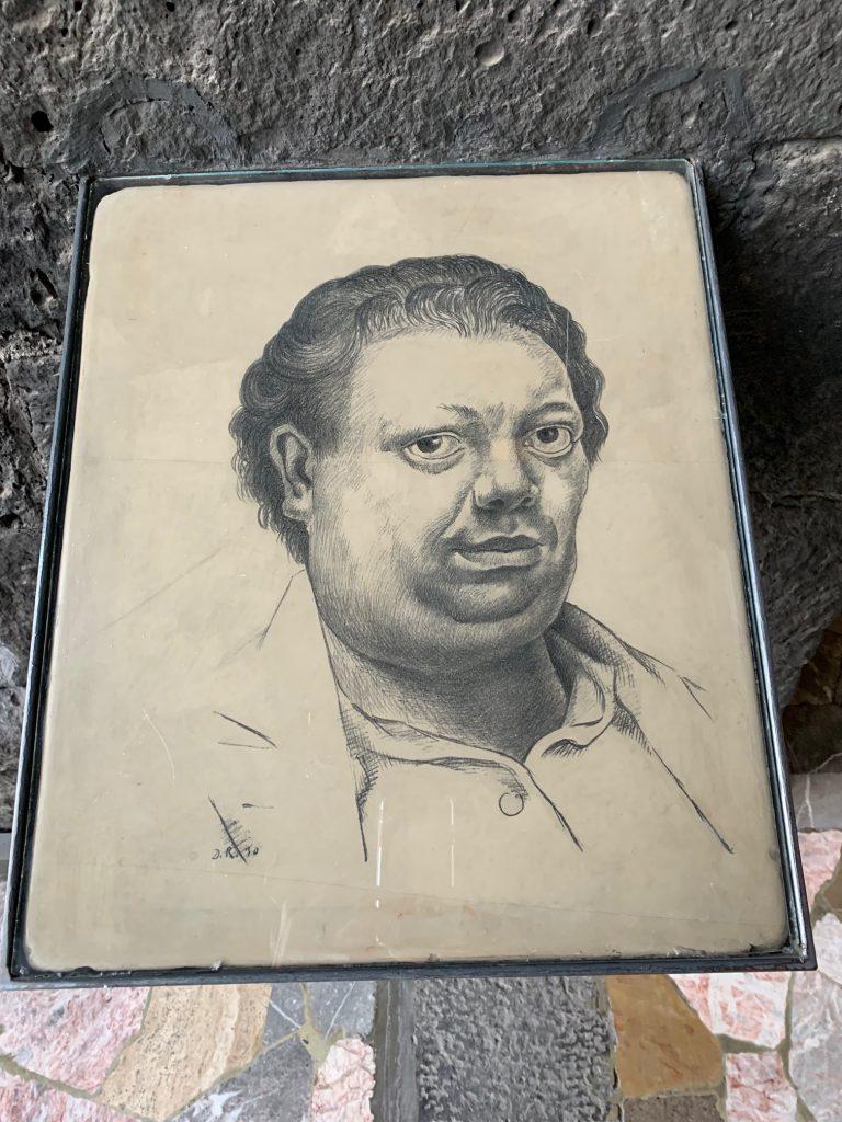 Diego Rivera Self Portrait, Coyoacan, Mexico ©2019, Cyndie Burkhardt