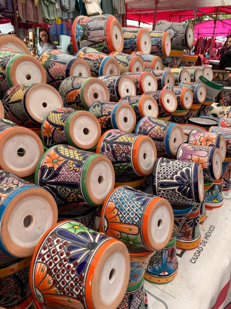 Pottery, Mexico City, Mexico ©2019, Cyndie Burkhardt