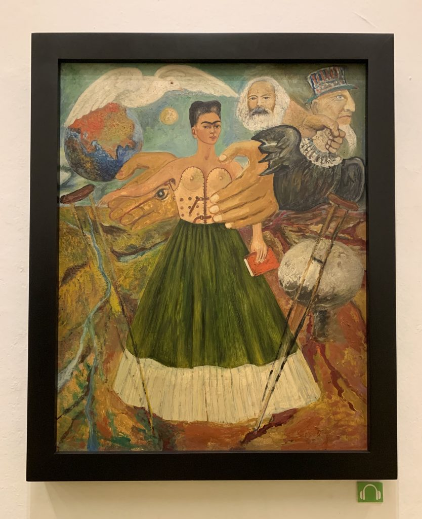 Frida Kahlo Self Portrait, Coyoacan, Mexico ©2019, Cyndie Burkhardt