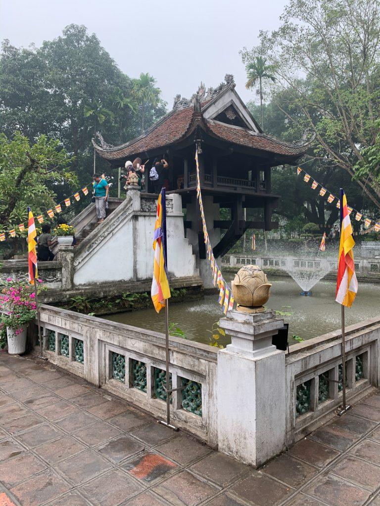 One Pillar Pagoda, Hanoi, Vietnam ©2019, Cyndie Burkhardt.