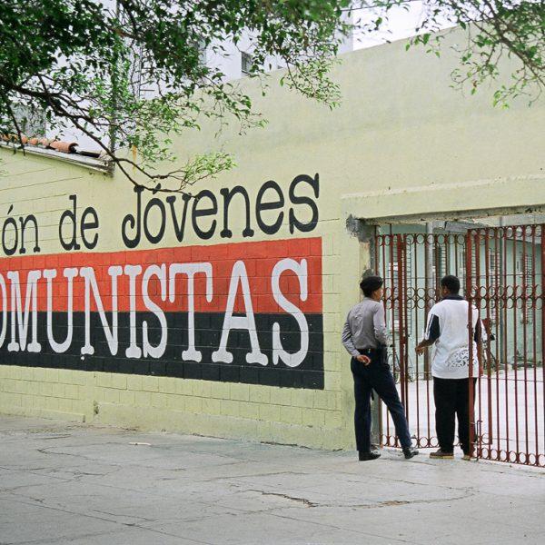Union de Jovenes Comunistas, Havana, Cuba, 1999 ©Cyndie Burkhardt.