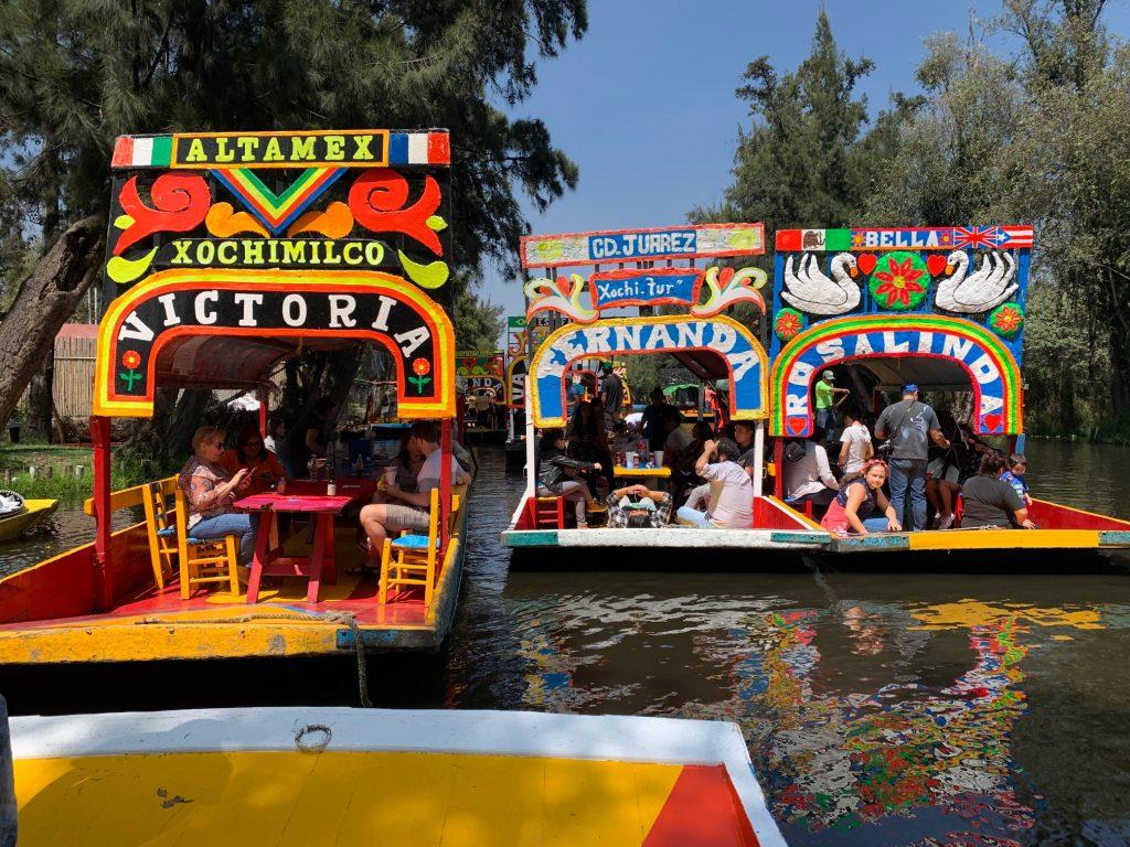 Xochimilco, Mexico ©2019, Cyndie Burkhardt