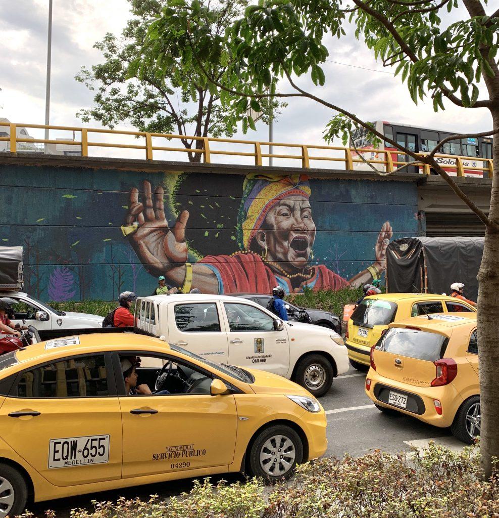 Graffiti art in Medellin, Colombia ©2019, Cyndie Burkhardt