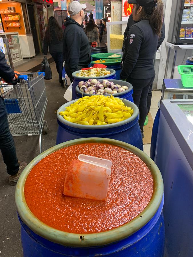 La Vega Central Market, Santiago, Chile ©2019, Cyndie Burkhardt.