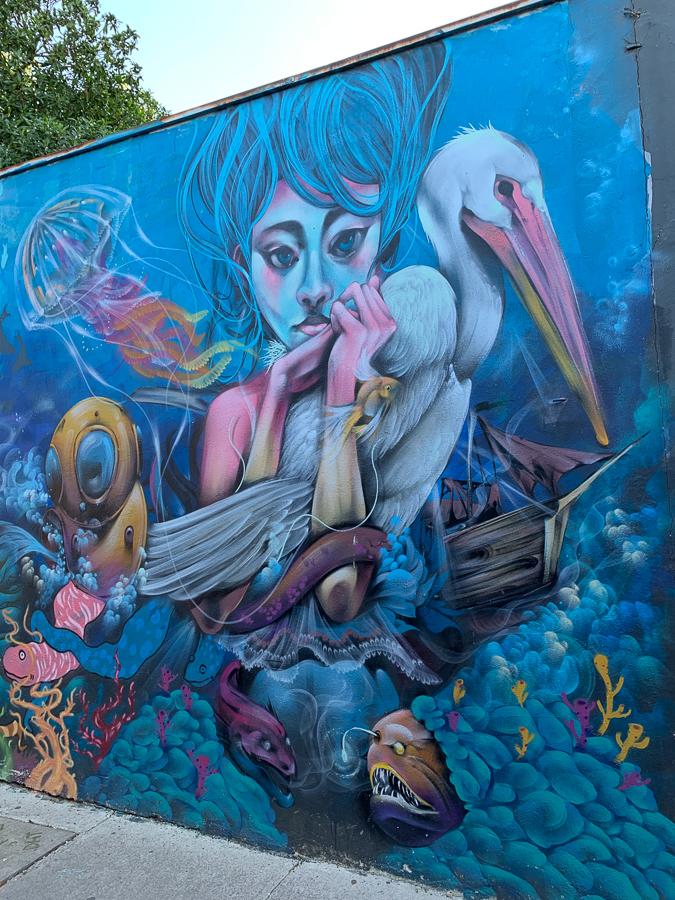 Wall Art, Valparaíso, Chile ©2019, Cyndie Burkhardt.