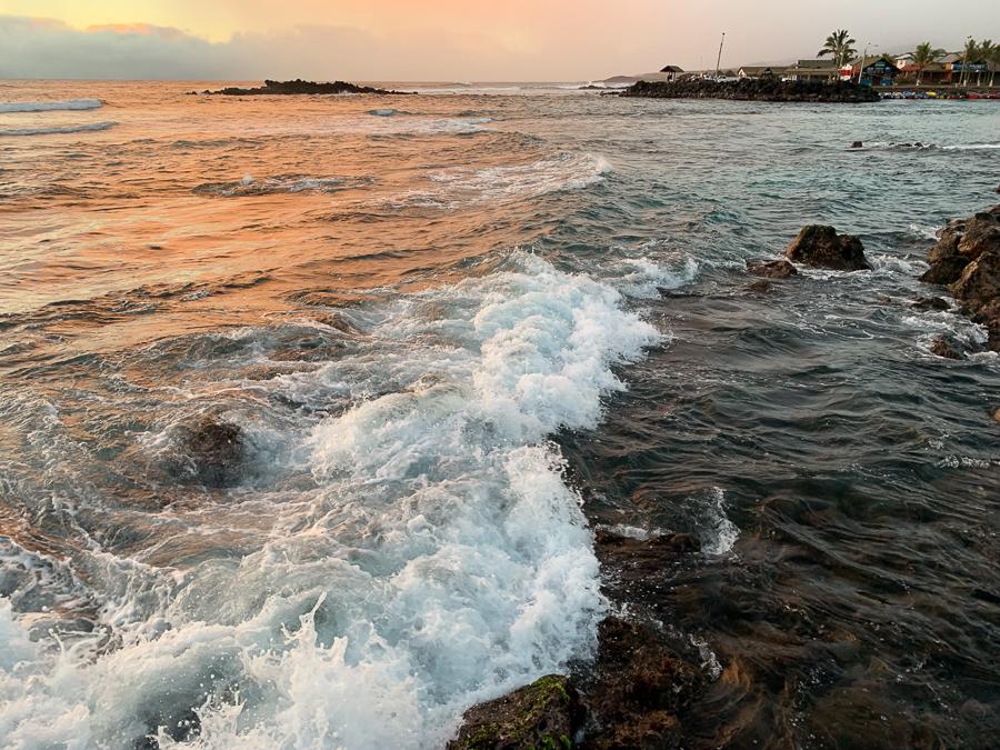 Pacific Ocean, Easter Island, Chile ©2019, Cyndie Burkhardt.