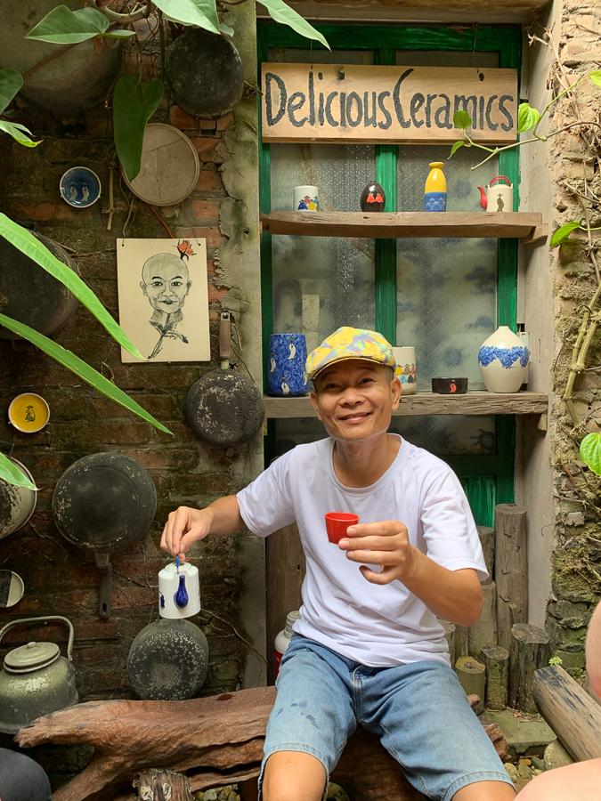 Bat Trang Pottery Village, Vietnam ©2019, Cyndie Burkhardt.