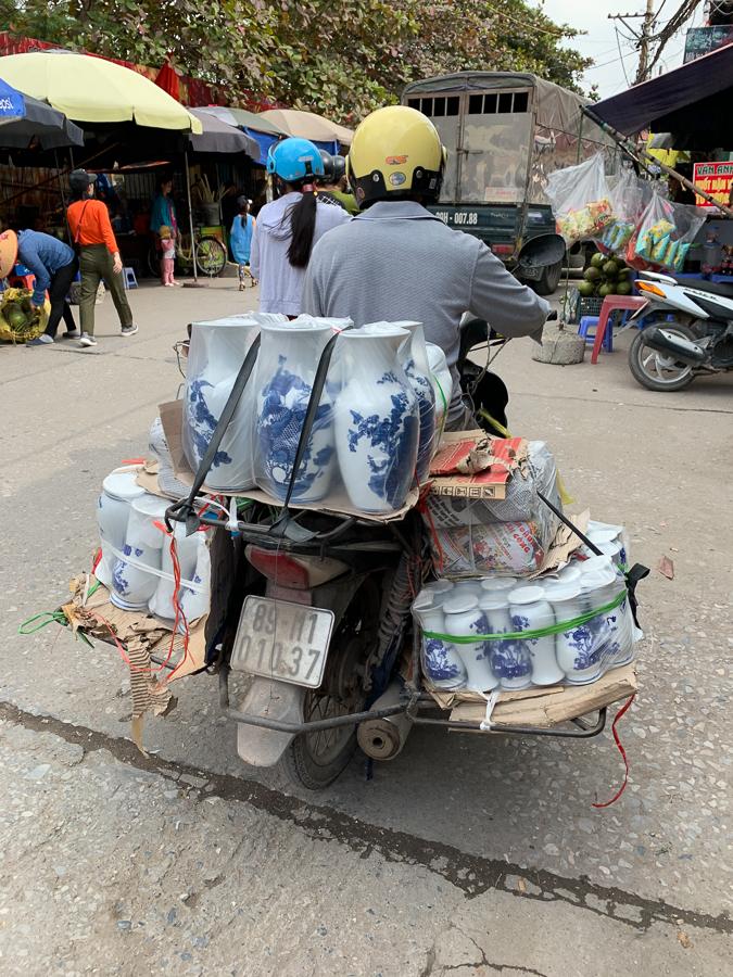 Bat Trang Pottery Village, Hanoi, Vietnam, ©2019, Cyndie Burkhardt.
