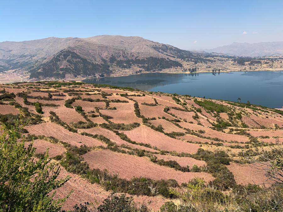 Farmland, Chinchero, Peru ©2019, Cyndie Burkhardt.