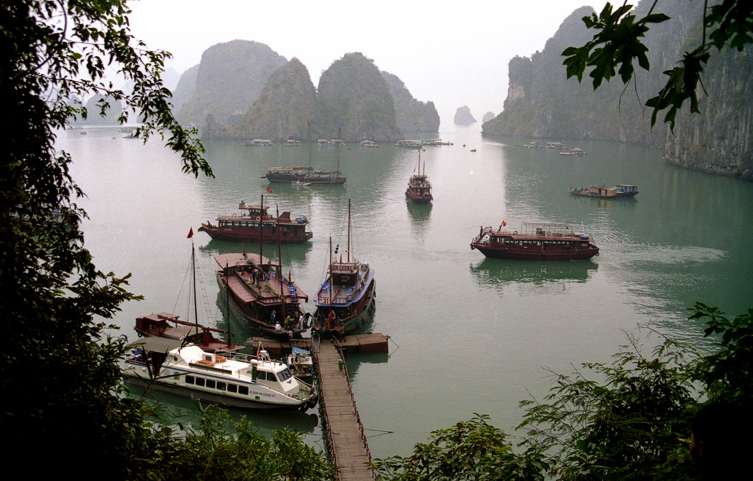 Halong Bay, Vietnam ©Cyndie Burkhardt.
