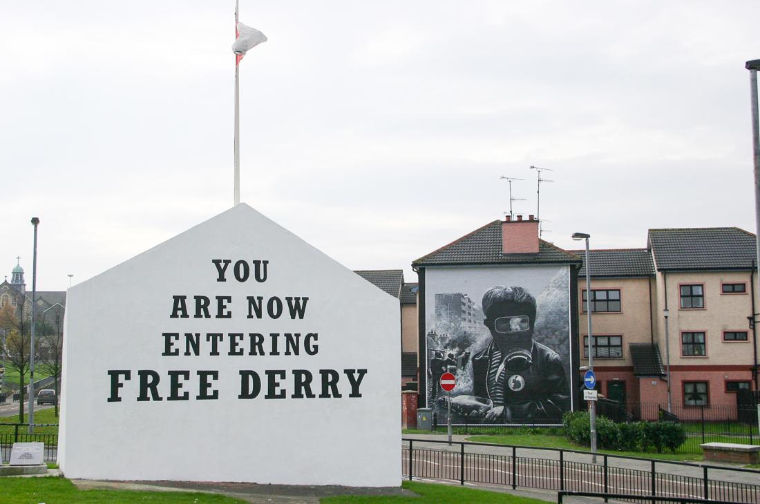 Derry, Ireland ©Cyndie Burkhardt.
