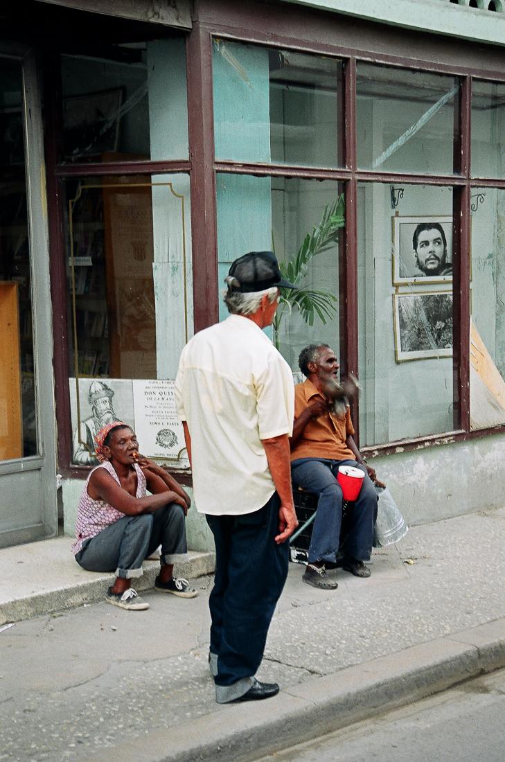 Che Guevara, Havana, Cuba, 1999 ©Cyndie Burkhardt.
