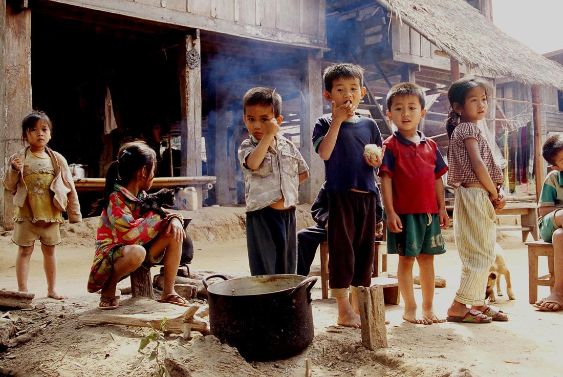 Ban Muang Keo, Laos ©Cyndie Burkhardt.