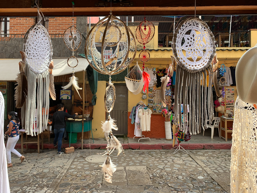 Dream Catchers, Tepoztlan, Mexico ©2019, Cyndie Burkhardt