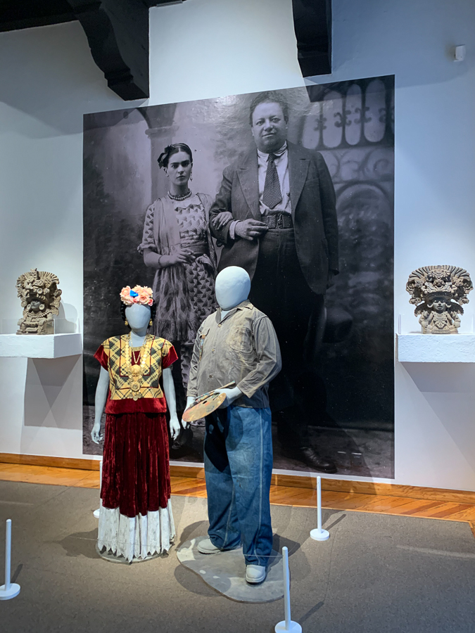 Frida and Diego exhibit, Dolores Olmedo Museum, Xochimilco, Mexico ©2019, Cyndie Burkhardt